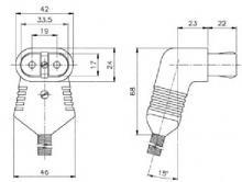 Термостойкий разъем тип 728 cer
